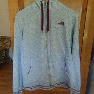 North Face Zippered Hoody